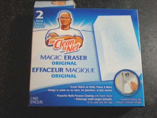 how to use mr clean magic eraser on walls