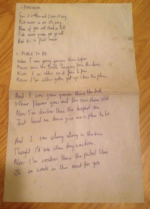nd - lyrics